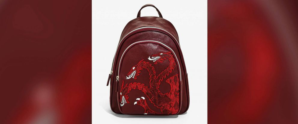 PHOTO: Danielle Nicole Game Of Thrones House Targaryen Mini Backpack