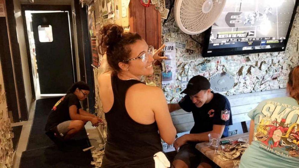 PHOTO: Siesta Key Oyster Bar in Sarasota, Florida, is donating $13,961 to Hurricane Dorian relief.
