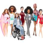 Maya Gabiera, Naomi Osaka, Kristina Vogel, Tessa Virtue, Yara Shahidi, Adwoa Aboah, Dipa Karmakar, Chen Man and Ita Buttrose all received their own Barbie dolls in celebration of Barbie's 60th anniversary.