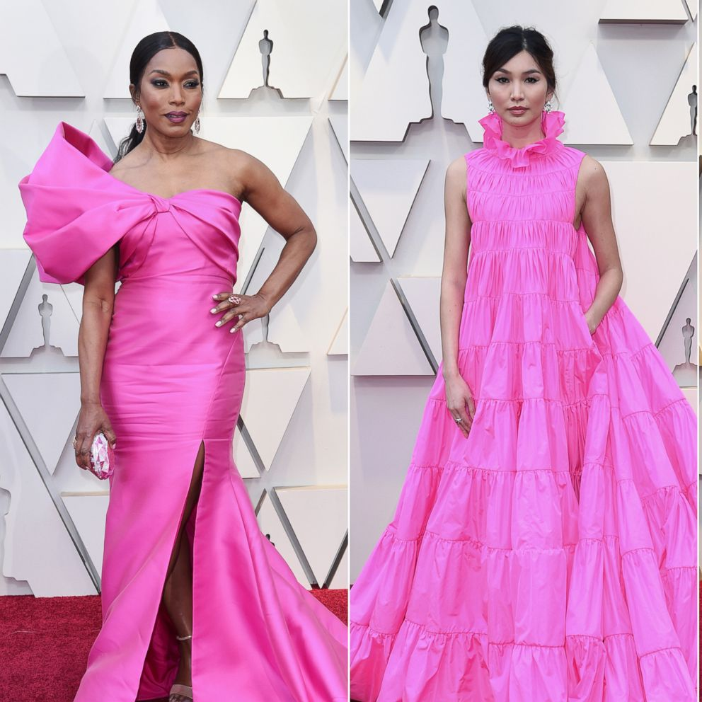 Pink dresses ruled the 2019 Oscars red carpet | GMA