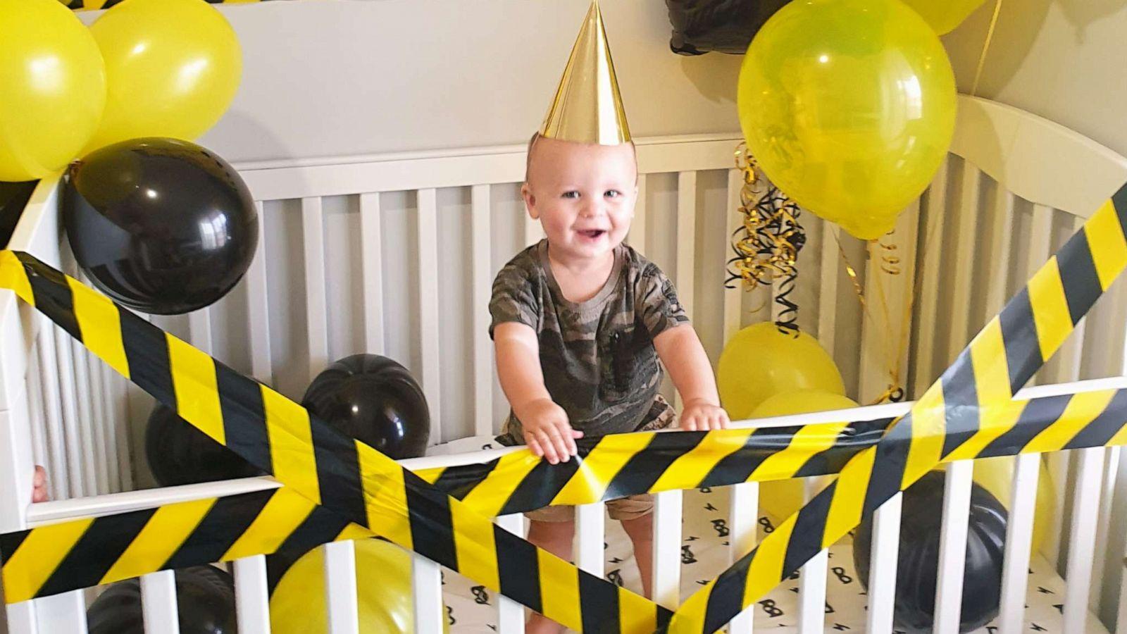 This Mom Planned A Quarantine 1st Birthday Photo Shoot Gma