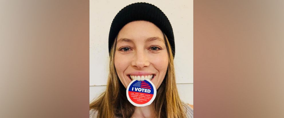 PHOTO: Jessica Biel posted this photo to her Facebook, Nov. 6, 2018.