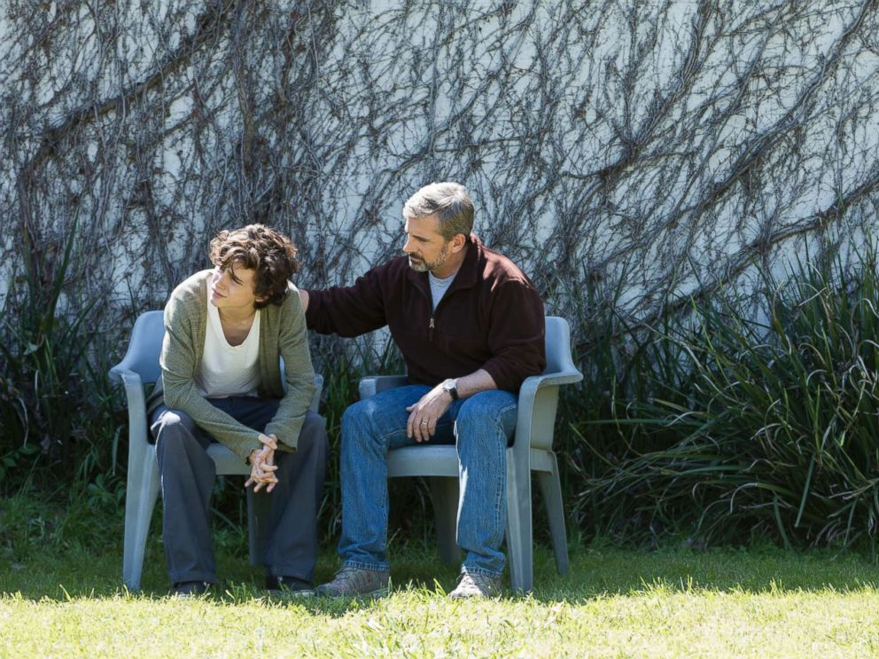 PHOTO: Timothee Chalamet and Steve Carell star in the film, Beautiful Boy.
