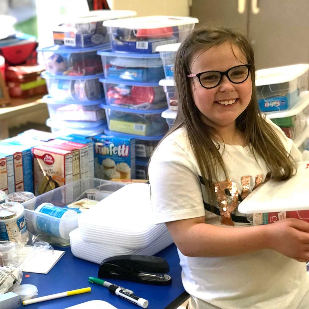 Girl Builds Birthday Boxes After Learning Classmates Couldn T
