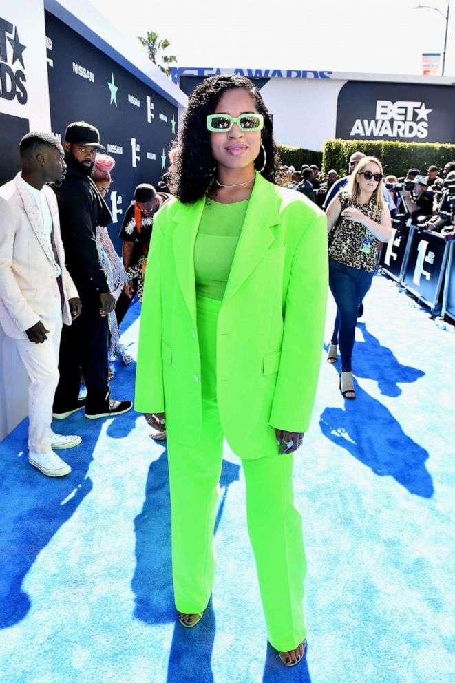 PHOTO: Ella Mai attends the 2019 BET Awards at Microsoft Theater on June 23, 2019, in Los Angeles.