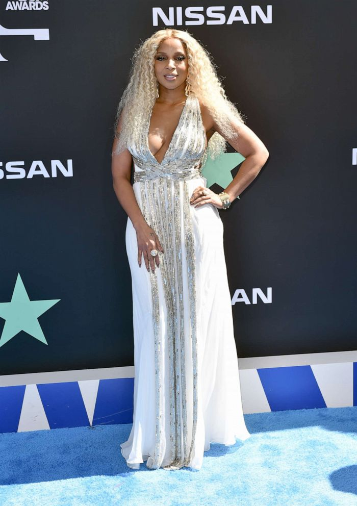 PHOTO: Mary J. Blige attends the 2019 BET Awards at Microsoft Theater on June 23, 2019, in Los Angeles.