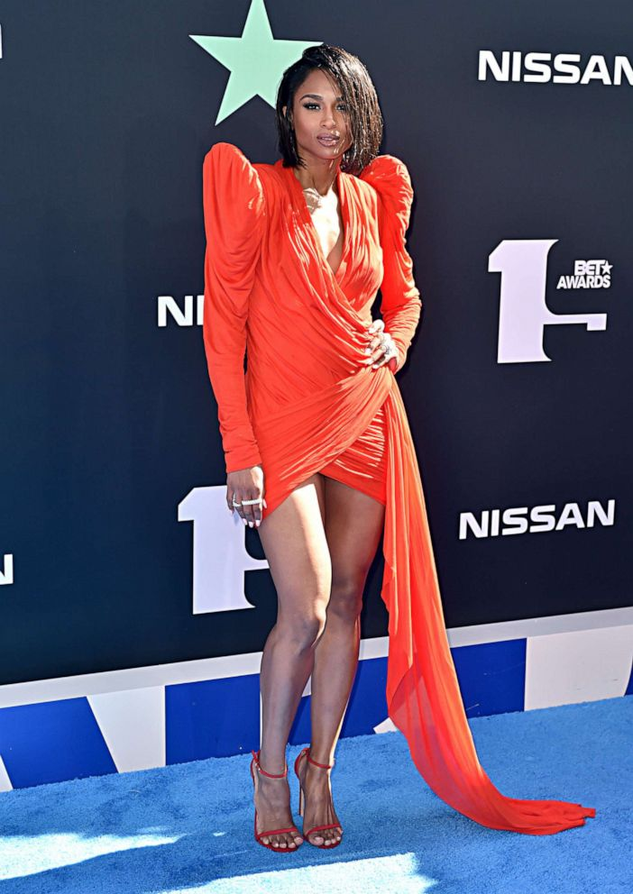 PHOTO: Ciara attends the 2019 BET Awards at Microsoft Theater on June 23, 2019, in Los Angeles.
