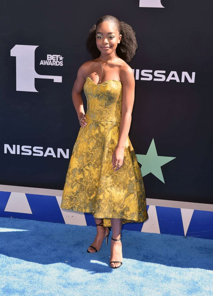 PHOTO: Marsai Martin attends the 2019 BET Awards at Microsoft Theater on June 23, 2019, in Los Angeles.