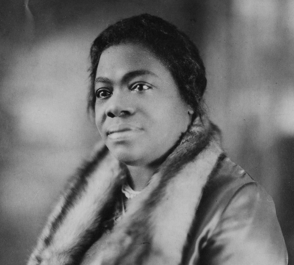 PHOTO: Portrait of Dr. Mary McLeod Bethune (1875 - 1955), civil rights activist and president and founder of Bethune Cookman College, ca.1920s.
