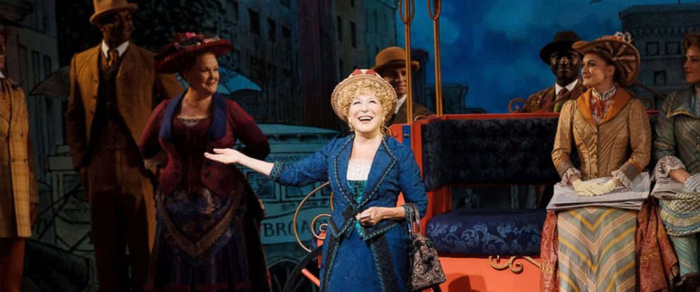 "PHOTO: Bette Midler returns to her Tony Award-winning role in ""Hello, Dolly!"" on Broadway, July 17, 2018, in New York."
