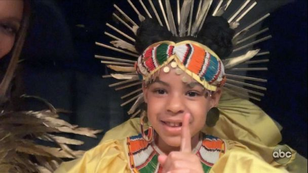 Beyoncé's kids stole the show during 'Making The Gift' special