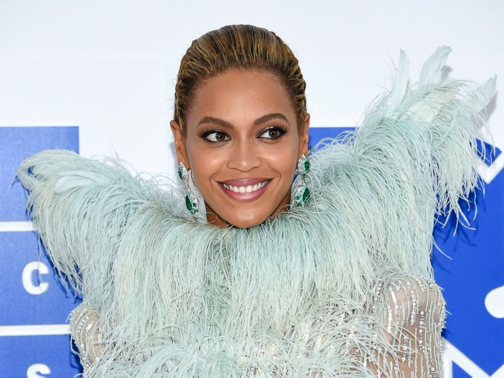 PHOTO: In this Aug. 28, 2016 file photo, Beyonce Knowles arrives at the MTV Video Music Awards at Madison Square Garden, in New York.