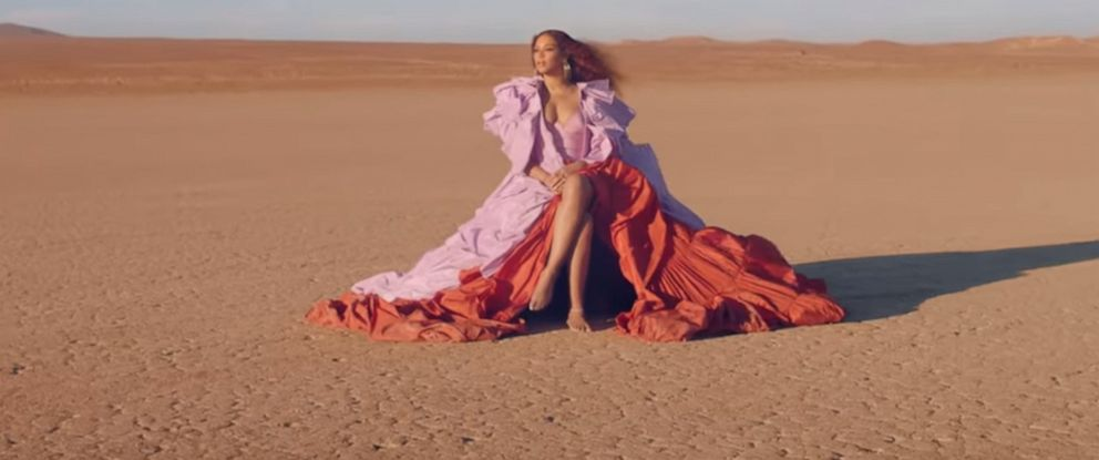 """PHOTO: Beyonce posted this new video """"Spirit,"""" from Disneys The Lion King."""