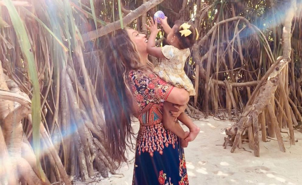 Beyonce posted this photo of of her daughter Rumi to her website, beyonce.com.