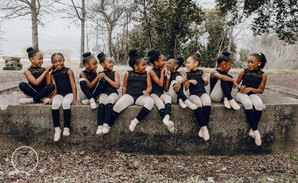 PHOTO: The girls are just enjoying having fun and dancing hard, says dance mom, Angela Malonson.