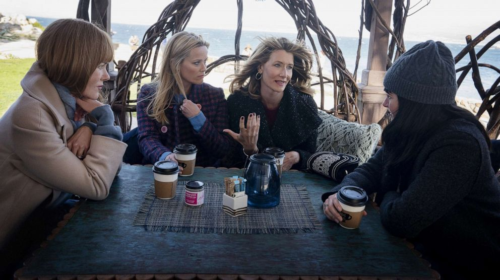 PHOTO: Nicole Kidman, Reese Witherspoon, Laura Dern and Shailene Woodley in a scene from Big Little Lies, season 2.