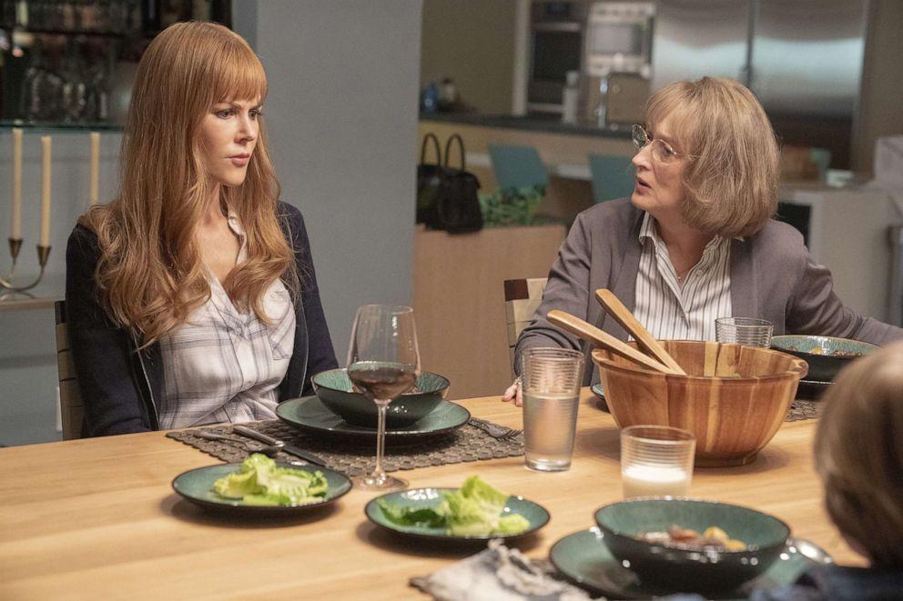 PHOTO: Nicole Kidman and Meryl Streep in a scene from Big Little Lies, season 2.