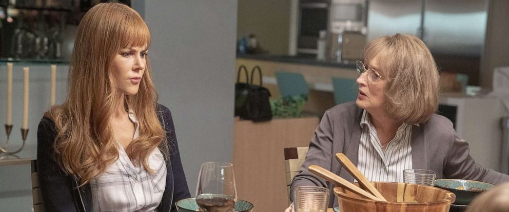 "PHOTO: Nicole Kidman and Meryl Streep are shown in a scene from season 2 of ""Big Little Lies."""