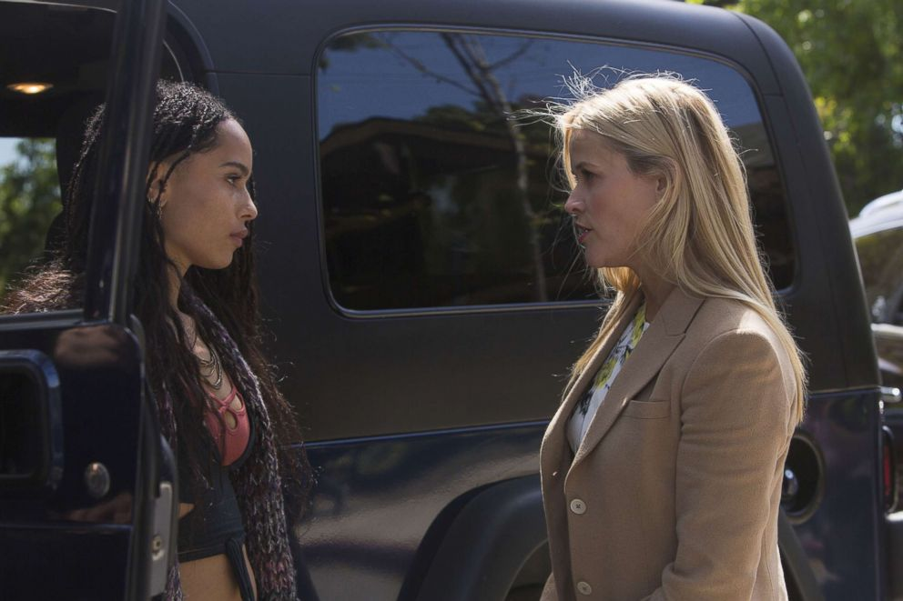 PHOTO: HBOs show Big Little Lies featuring Zoe Kravitz and Reese WItherspoon.