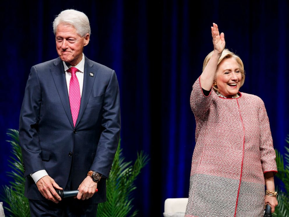 Hillary Clinton calls not divorcing Bill the 'gutsiest' thing she's ever done