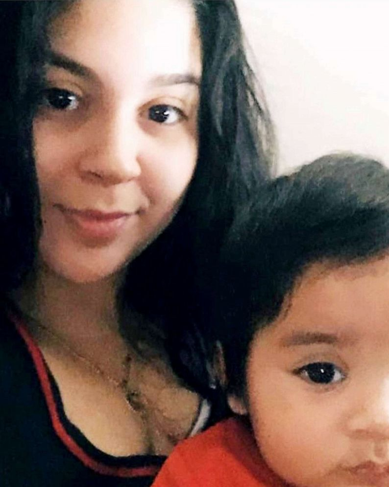 PHOTO: Cassandra Saldivar, who passed away on June 1, 2021, is pictured with her son.