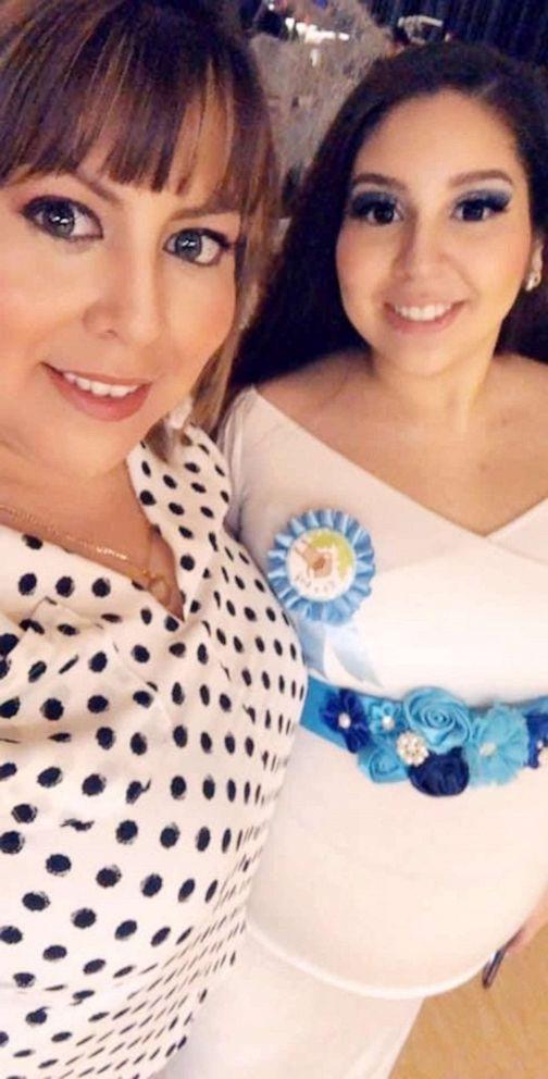 PHOTO: Patricia Salvidar is photographed with her late daughter, Cassandra Saldivar.