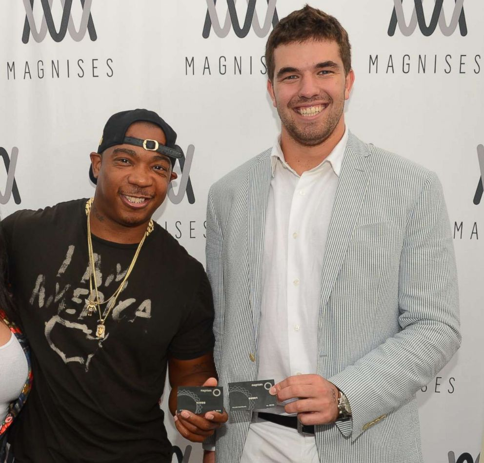 PHOTO: Ja Rule and Billy McFarland attend an event in Montauk, N.Y., July 26, 2014.