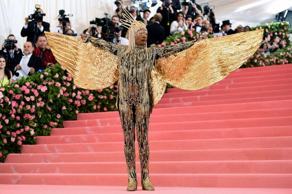 PHOTO: Billy Porter attends the 2019 Met Gala Celebrating Camp: Notes on Fashion at the Metropolitan Museum of Art, May 6, 2019, in New York City.