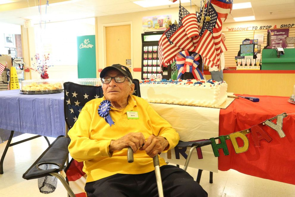 PHOTO: Stop & Shop celebrated Bennie Ficetos 98th birthday with a surprise party.