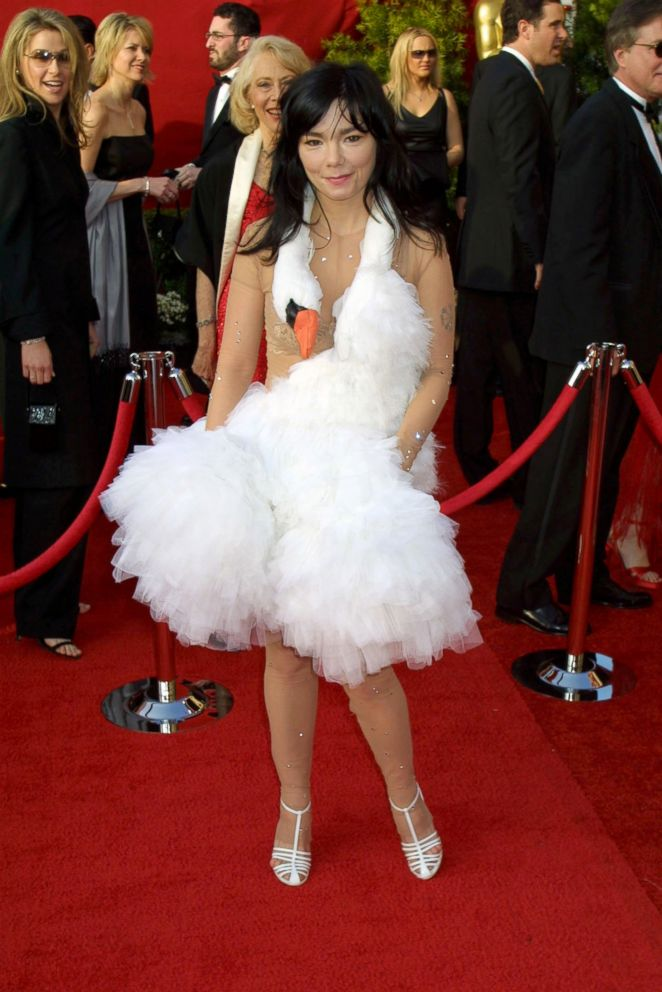 PHOTO: Bjork attends the 73rd annual Academy Awards.