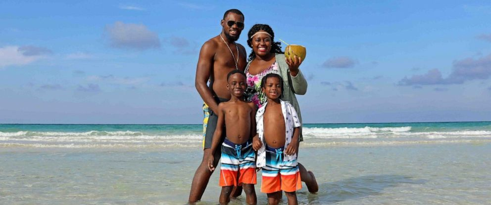 PHOTO: Karen Akpan and family in Havana, Cuba.