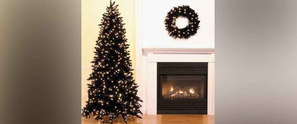 PHOTO: Searches for black Christmas trees are up 70 percent over last year on Wayfair.com.