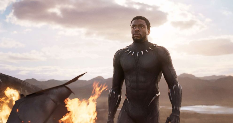 PHOTO: Chadwick Boseman in a scene from the movie Black Panther.