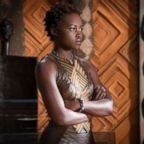 """Lupita Nyong'o in a scene from """"Black Panther."""""""
