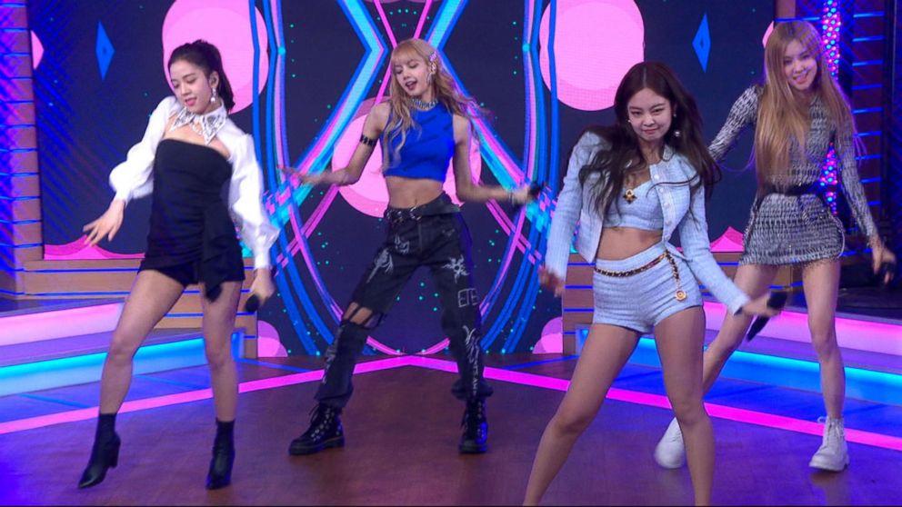 "Girl group BlackPink performs on ""Good Morning America,"" Feb. 12, 2019."
