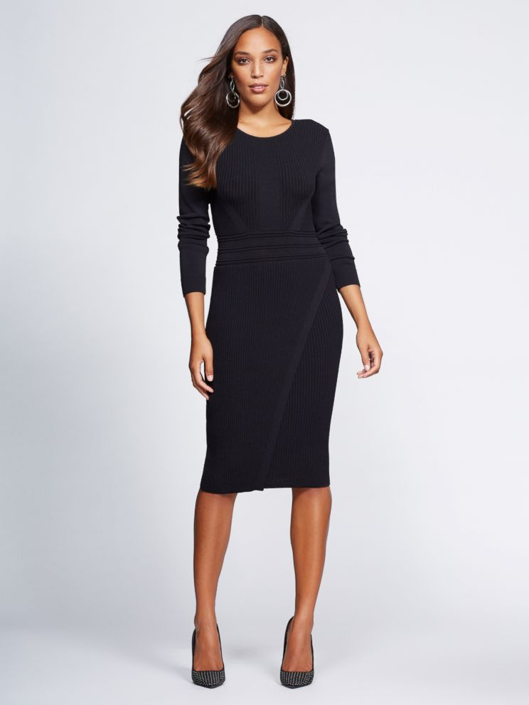 PHOTO: This sweater dress is part of Gabrielle Unions latest NY & Co. collection.