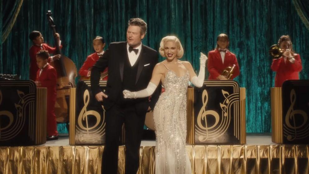 Power couple Gwen Stefani and Blake Shelton release holiday