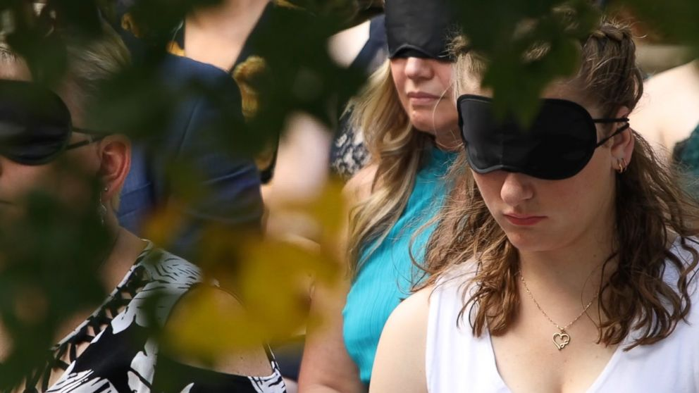 Why This Blind Bride Had Her Guests Wear Blindfolds During Her