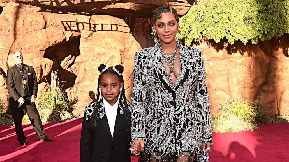 Beyonce's 9-year-old daughter Blue Ivy wins her first Grammy Award