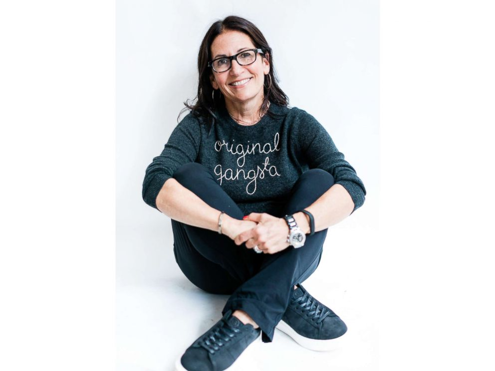 PHOTO: Bobbi Brown poses for a photo wearing GREATS sneakers.