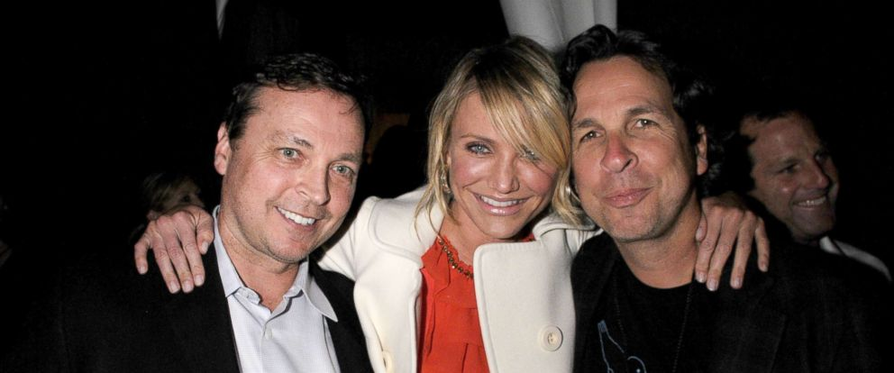 PHOTO: Director Bobby Farrelly, actress Cameron Diaz and director Peter Farrelly attend Spike TVs 2nd Annual Guys Choice Awards at Sony Studios, May 30, 2008, in Culver City, Calif.