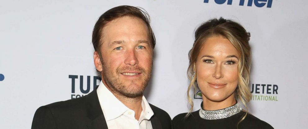 PHOTO: Bode Miller and his wife, Morgan Beck, attend an event in Las Vegas, April 19, 2018.