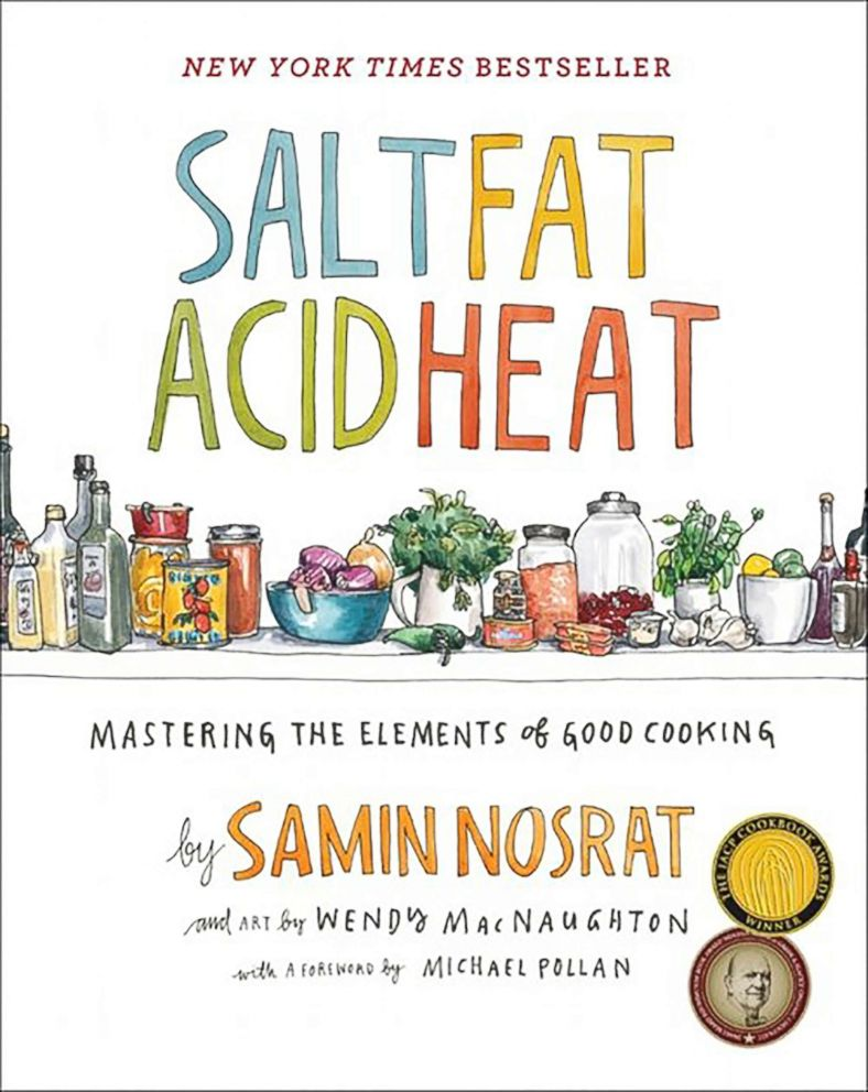 PHOTO: The book cover of Salt Acid Fat Heat is pictured.