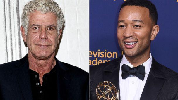 Bourdain wins posthumous award, Legend earns EGOT and black actors make history at Creative Arts Emmys