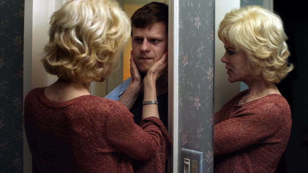 """Lucas Hedges and Nicole Kidman in a scene from """"Boy Erased."""""""