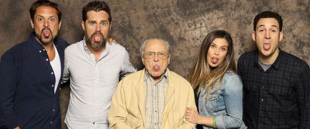 """PHOTO: The cast of """"Boy Meets World"""" reunited this weekend at Boston Comic-Con Fan Expo."""