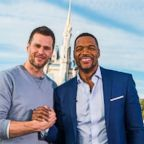 New England Patriots quarterback Tom Brady opens up in an interview with ABC News' Michael Strahan at Walt Disney World.