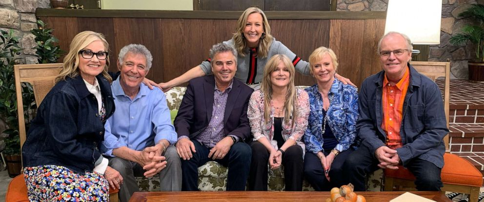 "PHOTO: All six of the ""Brady Bunch"" children are reuniting for a groovy unveiling of the newly renovated Brady home."