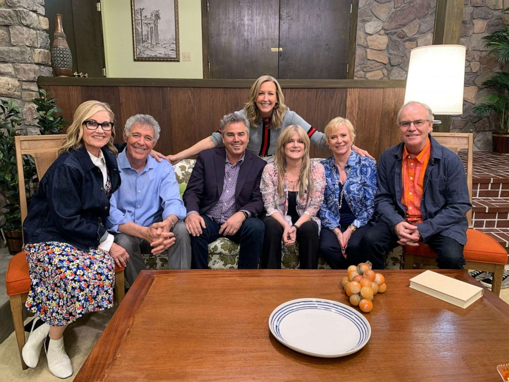 PHOTO: All six of the Brady Bunch children are reuniting for a groovy unveiling of the newly renovated Brady home.