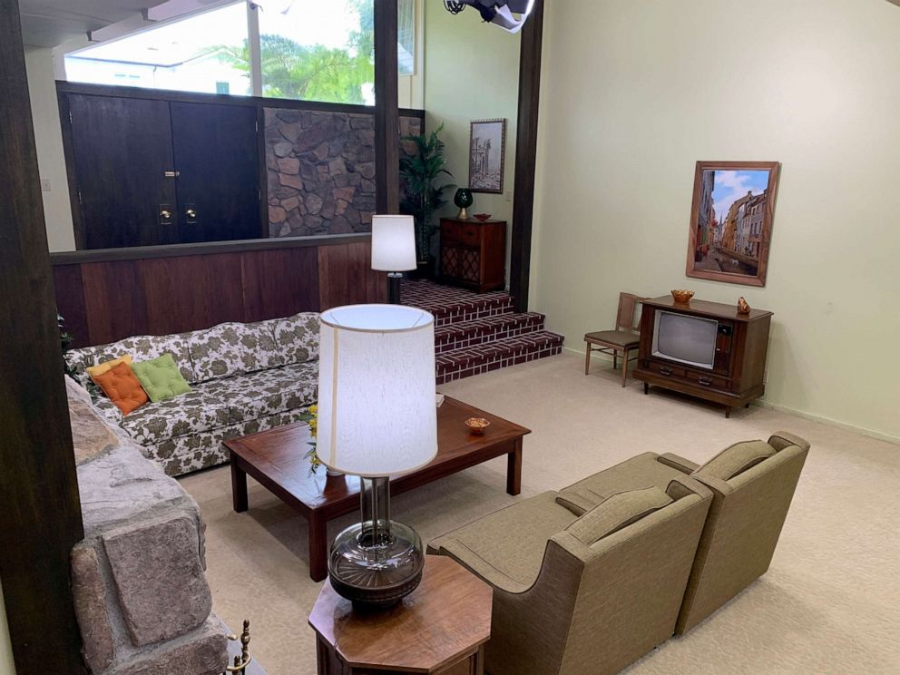 PHOTO: Good Morning America got a look inside the newly renovated home originally used in The Brady Bunch.